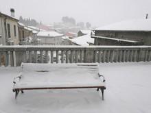 Bench Under The Snow
