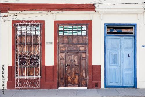 Photo  Türen in Cienfuegos, Cuba