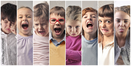 Photo anger child