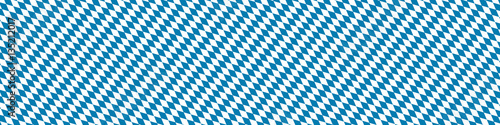 Blue and White diamonds, Bavarian flag banner Wallpaper Mural