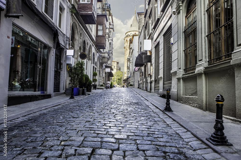 street of istanbul galata
