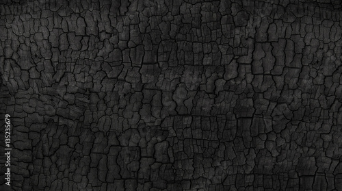 Stickers pour portes Texture de bois de chauffage Black background
