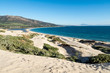 Valdevaqueros beach, located in Tarifa. Place highly prized for water sports and wind sports.Photo taken from the dune.