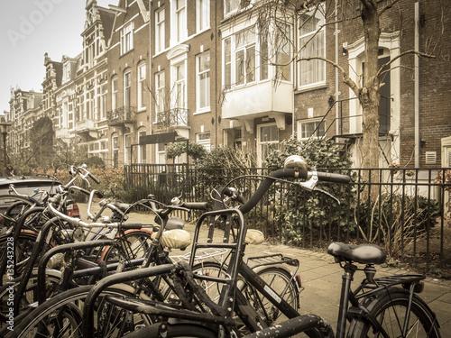 Fototapety, obrazy: Fahrradstadt Amsterdam