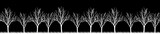 Fototapeta Abstract - Vector. Stylized tree, Silhouettes of trees , seamless texture w