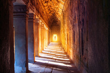 The Monks In Angkor Wat, Siam ...