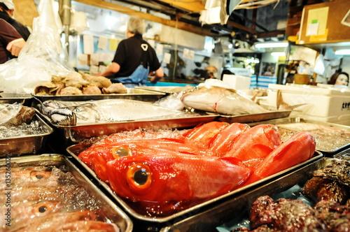 Fényképezés Editorial Tokyo Fish Market