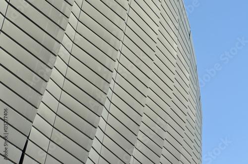 Foto op Plexiglas Stadion Modern architecture pattern of a stadium