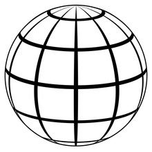 Globe Planet Icon High Quality