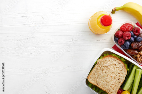 Photo  Healthy lunch box