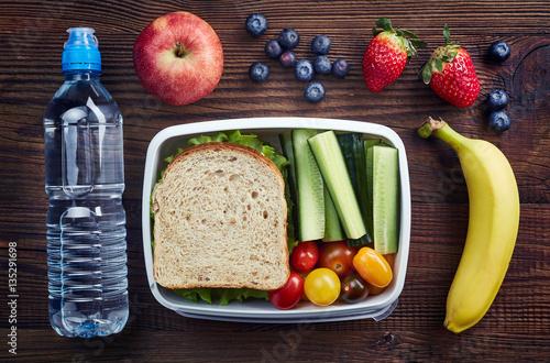 Fotografía  Healthy lunch box