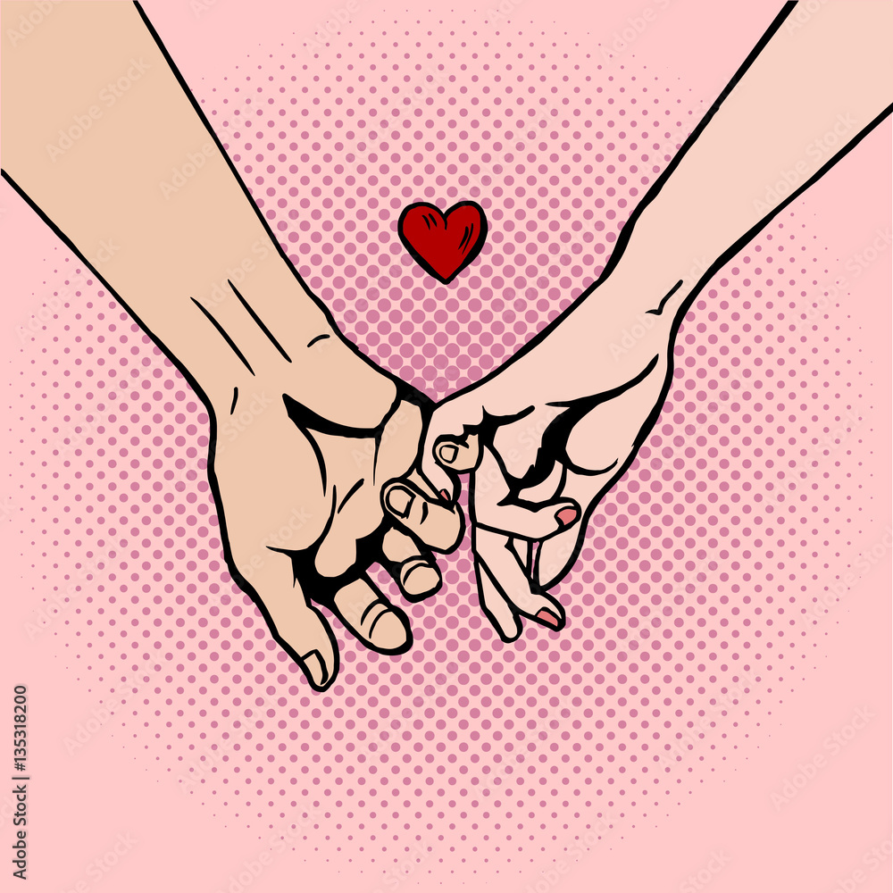 Hands love holding The Way