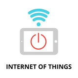 Internet of things icon, for graphic and web design