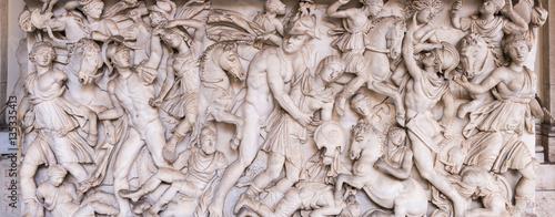 Fotografia  Old Roman Relief