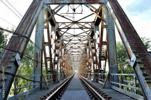 Poster Bridges Ponte Ferroviario