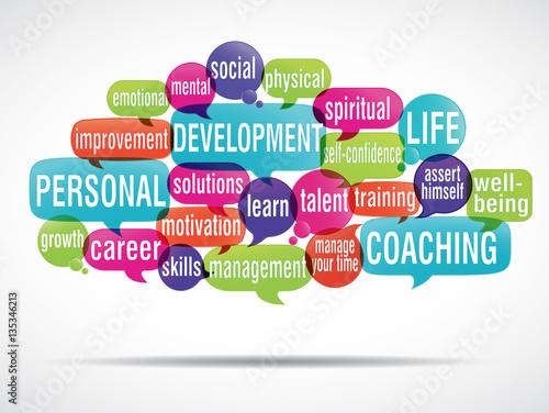 word cloud : Personal Development coaching