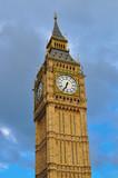 Fototapeta Fototapeta Londyn - Wieża Big Ben w Londynie na tle chmur