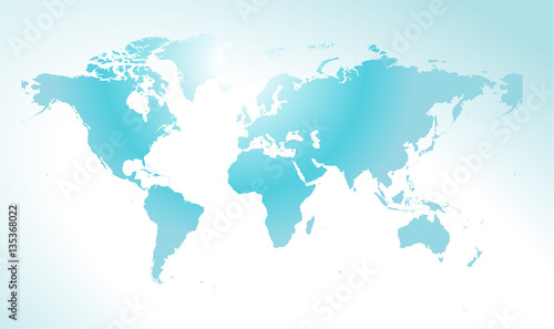 World Map Concept For Web Design Background Web Banner Printed