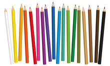 Crayons - Colored Pencil Set L...
