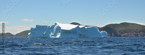 Poster Glaciers Iceberg, Cape Bonavista is a headland located on the east coast of the island of Newfoundland in the Canadian province of Newfoundland and Labrador.