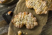 Homemade Sweet Breakfast Bear Claw Pastry