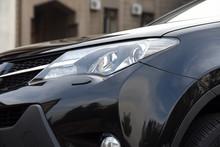 Black SUV Japanese Car Auto