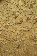 Thai Style Bas Relief