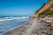 Beacon's Beach and cliffs in Encinitas, California.