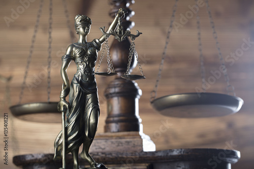 Fotografia, Obraz  Law and justice concept
