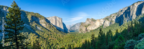 Photo Yosemite Valley panorama