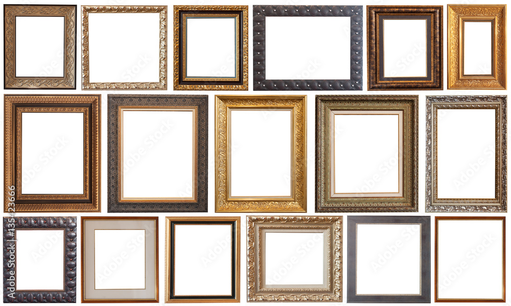 Fototapeta picture frame isolated