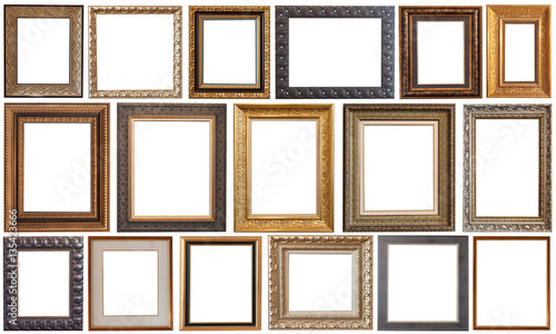 Fotografía  picture frame isolated