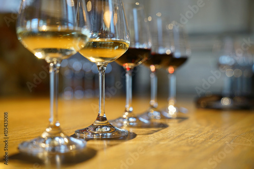 Fotomural  Closeup of South Africa wines