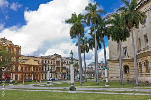 Foto op Plexiglas Stadion Havana, capital of Cuba