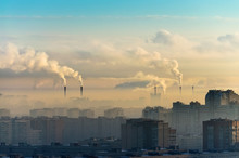 Cities And Industrial Smoke Cl...
