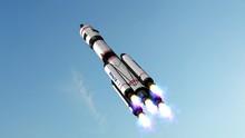 Space Rocket - Carrier Rocket ...