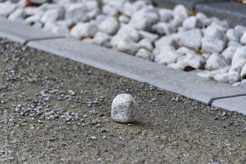 Photo sur Plexiglas Zen pierres a sable 神社境内の玉砂利