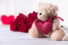 Cute Valentine's Teddy Bear ...