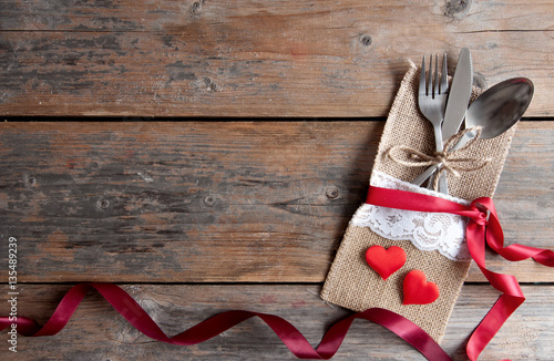 Valentines Day Romantic Dinner Background Buy This Stock Photo And