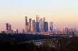 Photos winter Moscow City