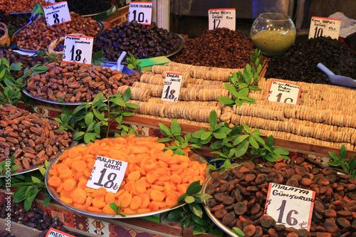 Fototapety, obrazy: Fresh dates for sale in Bursa Turkey