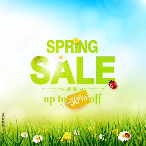 Spring Sale: Buy This Stock Vector And Explore