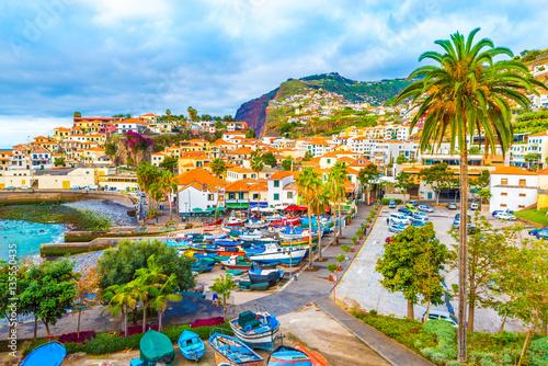 Fotografie, Obraz  Panoramic view over Câmara de Lobos  – Madeira island, Portugal