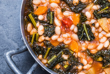 Vegetables Soup With Beans, Ka...