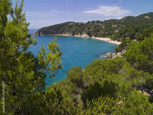 Foto op Plexiglas Caraïben Costa Brava cala Llorell playas Girona Cataluña España