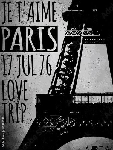 Photo  Paris - a city of love and romanticism