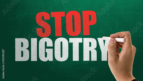 Valokuva  Stop Bigotry