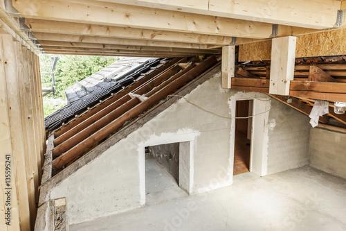 Dachbodenausbau Buy This Stock Photo And Explore Similar Images At
