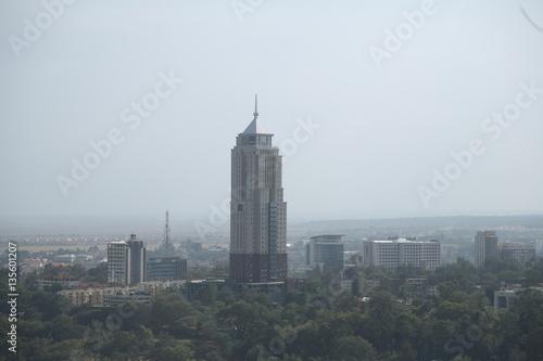 Poster Cracovie Skyline, rooftop, corporate, horizon