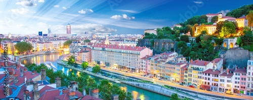 Obraz na plátně  Lyon, France